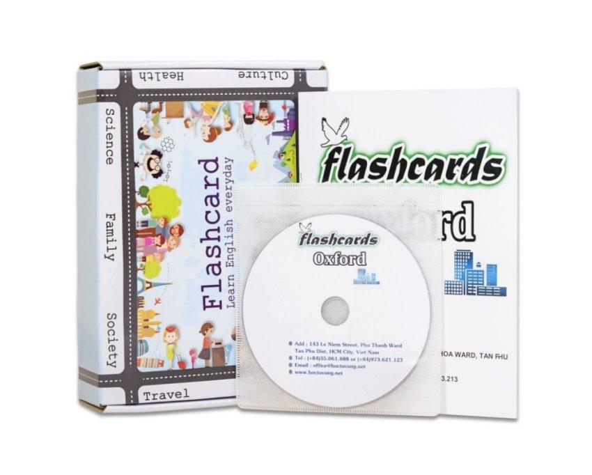 268 Flashcard phrasal verbs quan trọng chất lượng cao kèm dvd và sách hướng dẫn (10CD)