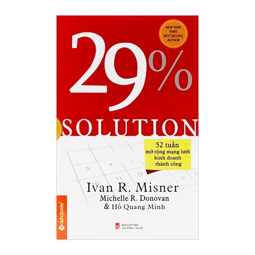 29% Solution - 52 Tuần Mở Rộng Mạng Lưới Kinh Doanh Thành Công