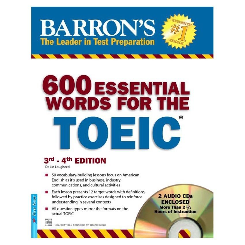600 Essential Words For The Toeic 3rd - 4th