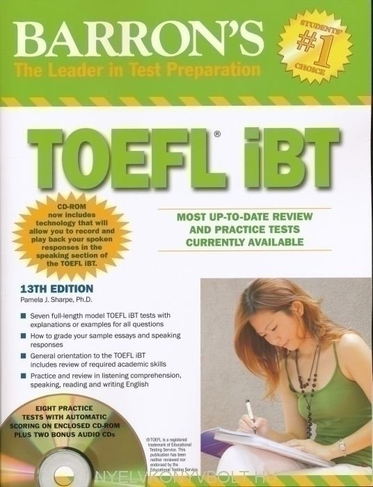 Barron's Toeft IBT 13th Edition