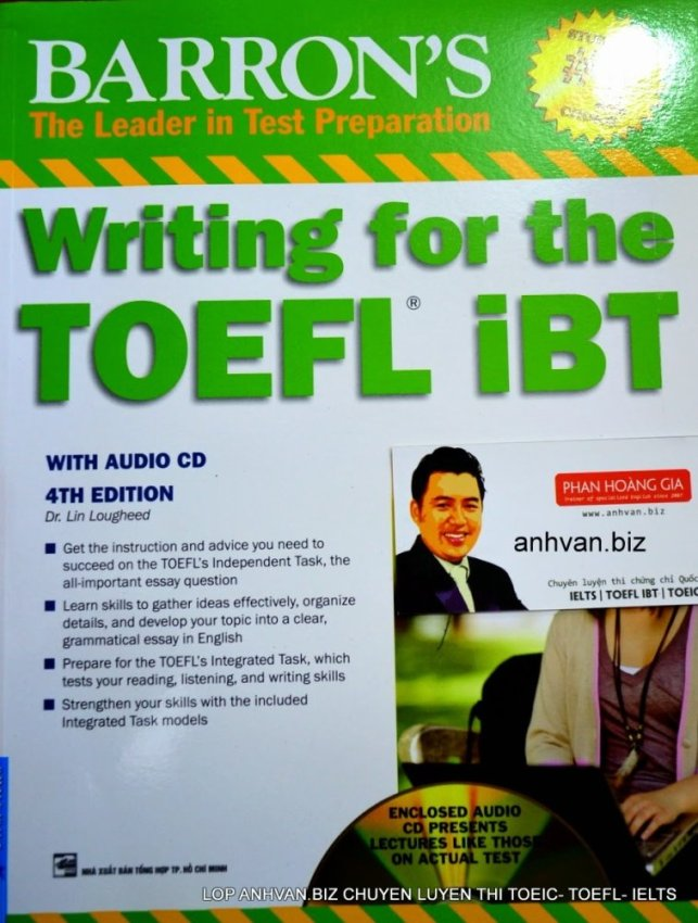 Barron's Writing for the TOEFL iBT 4th (kèm 1CD)