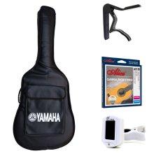 Bộ 1 bao đàn guitar Yamaha + 1 Capo Alice A007D + 1 Dây Classic Alice AC130 + 1 Tuner ET-33