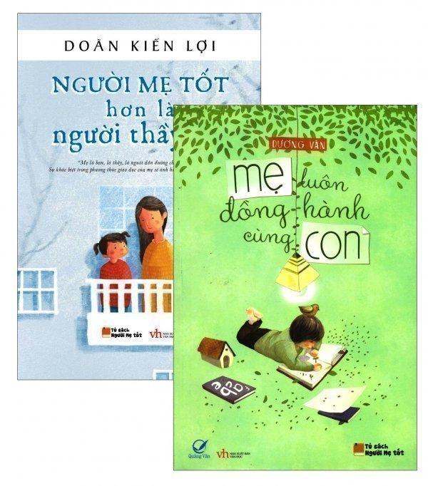 Bộ 2 cuốn Mẹ Luôn Đồng Hành Cùng Con - Doãn Kiến Lợi và Dương Văn và Trần Quỳnh Hương