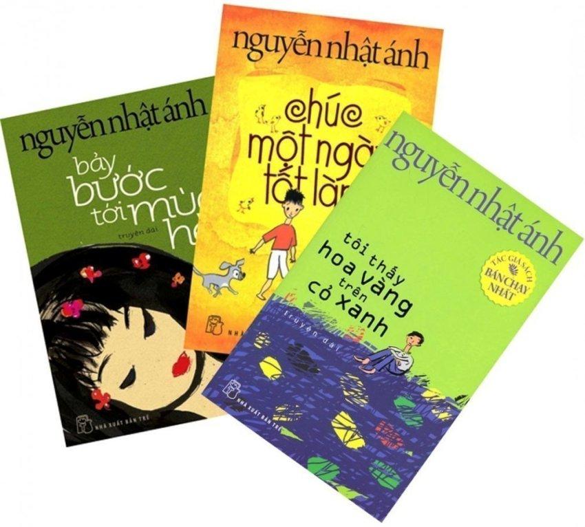 Bộ 3 cuốn Tôi Thấy Hoa Vàng Trên Cỏ Xanh - Nguyễn Nhật Ánh