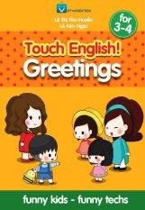Bộ sách tiếng anh (Mini) Touch English cho trẻ 3 - 4 tuổi