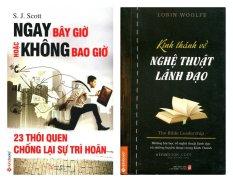 Combo: Ngay bây giờ hoặc không bao giờ, Kinh thánh về nghệ thuật lãnh đạo