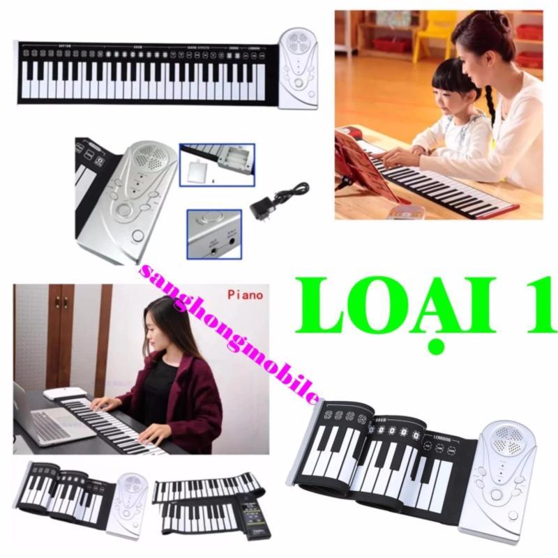Đàn piano điện tử bàn phím cuộn dẻo 49 keys Loại 1 Công nghệ mới 2017
