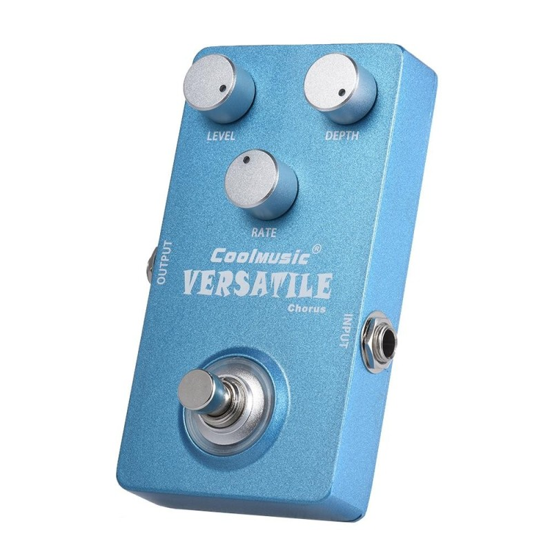 Electric Guitar Analog Chorus Effect Pedal True Bypass Full Metal Shell - intl