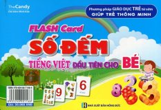 Flash Card - Số Đếm Tiếng Việt Đầu Tiên Cho Bé - The Candy