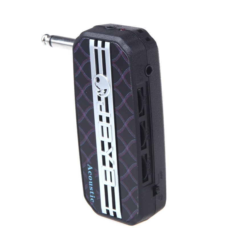 Mini Guitar Amplifier JA-03 Mini Guitar Amplifier Amp Pocket Powerful Acoustic Sound - intl