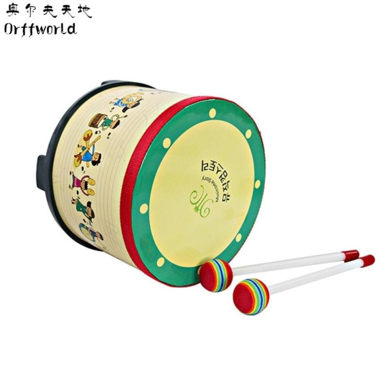 OH Orff World Children Toys Kindergarten Game Drum Musical Game Instrument Multicolor - intl
