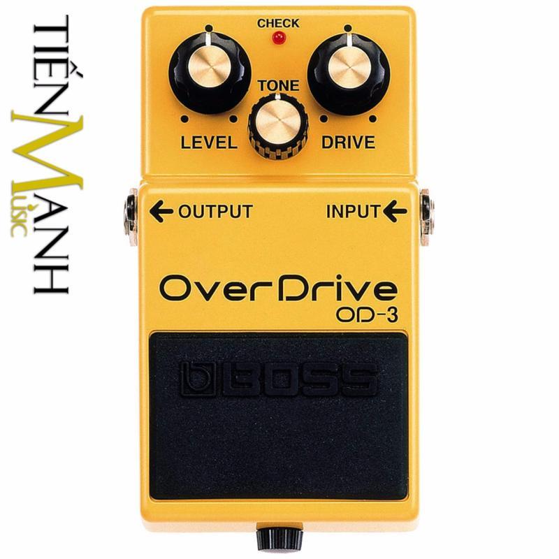 Phơ Guitar Boss OverDrive OD-3 (Bàn đạp Fuzz Pedals Effects)