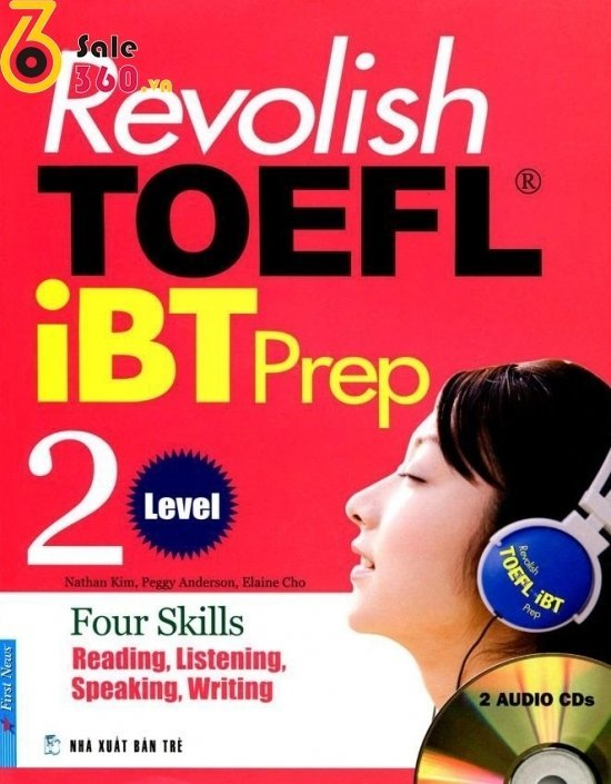 Revolish TOEFL iBT Prep 2 (Kèm 2CD)