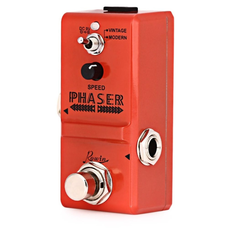 ROWIN LN - 313 Analog Phaser Guitar Effect Pedal True By Pass (Orange) - intl