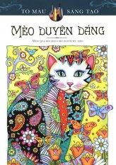 Sách Tô Màu Dành Cho Người Lớn – Mèo Duyên Dáng - Marjorie Sarnat
