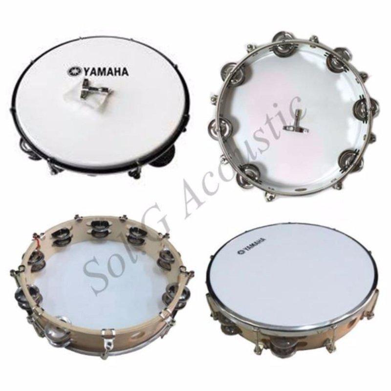 Tambourine Yamaha màu trắng