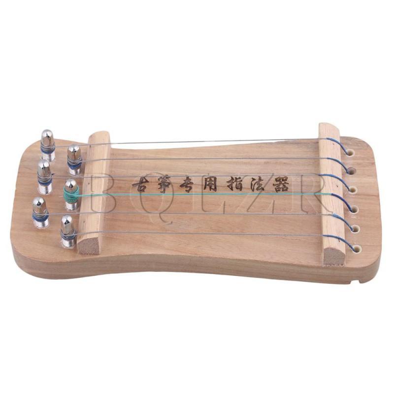 Traditional Chinese Musical 6-String Guzheng Finger Hand Exerciser - intl