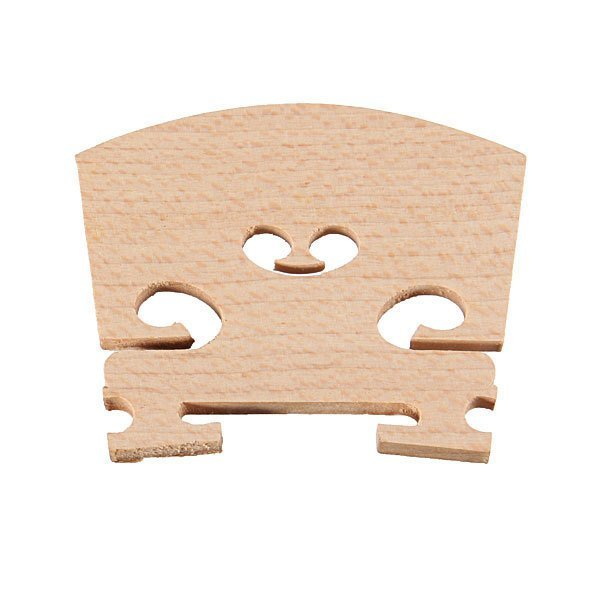 Violin Bridges Fiddle Maple Wood Laser Cut 4/4 Size Instrument Accessories Parts - Intl