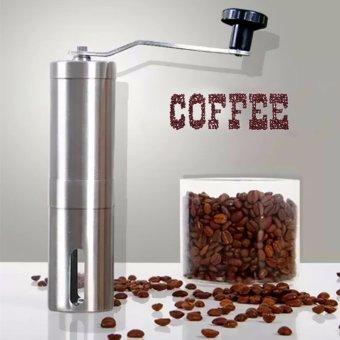 Manual Coffee Grinder Coffee Maker ceramics Core 304 StainlessSteel Hand Burr Mill Grinder Ceramic Corn Coffee