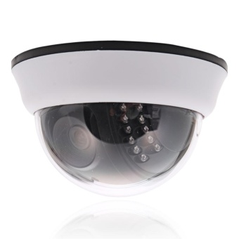 1200TVL CMOS 22IR Cut 3.6mm Lens Dome CCTV Security Camera Night Vision - intl