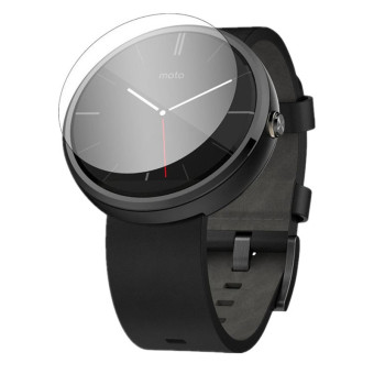 9H Tempered Glass LCD Screen Protector Film for Motorola Moto 360 Clear