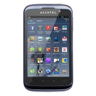 Alcatel One Touch 991D Xám bạc