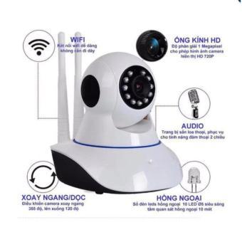 Camera IP wifi dây thông minh Yoosee IPC A8 HD 960P