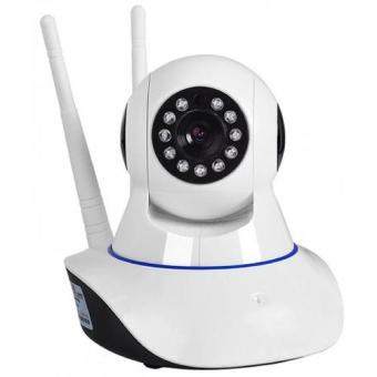 Camera IP không dây 2 ăng ten quan sát ngày đêm xoay 360 độ Yoosee YYZ100 XF Trắng