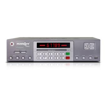 Đầu karaoke Musiccore TS-3 (Xám)