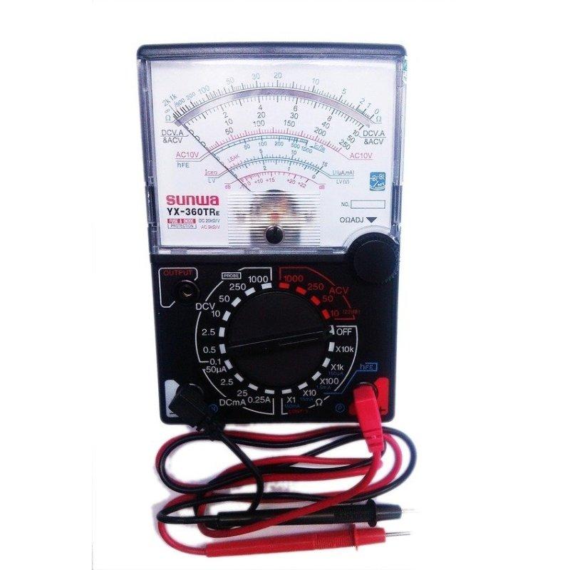 Đồng hồ đo kim vạn năng VOM (Đen phối trắng)