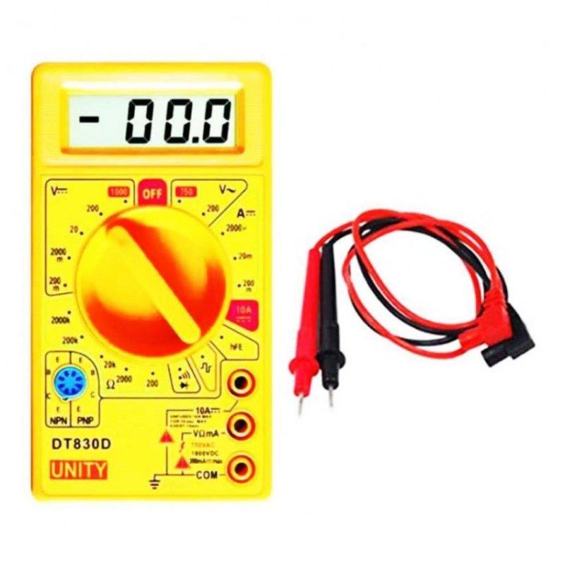 Đồng hồ đo vạn năng DT-830D (Vàng)