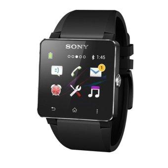Đồng hồ thông minh dây nhựa Sony Smartwatch 2 Đen