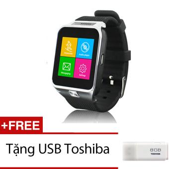 Đồng hồ thông minh Smartwatch ZGPAX S29 Bạc Tặng 1 thẻ nhớ 8GB