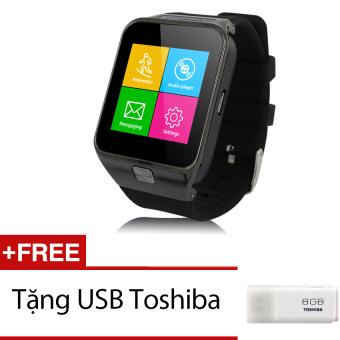 Đồng hồ thông minh Smartwatch ZGPAX S29 Đen Tặng 1 thẻ nhớ 8GB