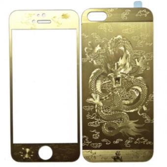 Miếng dán cường lực 2 mặt hình Rồng dành cho Iphone 5/5S/SE