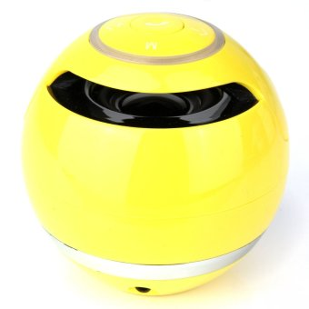Mini Bluetooth Wireless Speaker Portable for Xiaomi iPhone iPad Samsung Tablet PC Yellow intl