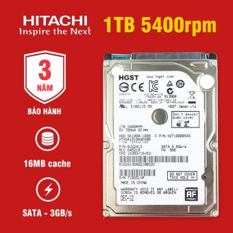 Ổ cứng Laptop Hitachi 1TB 5400rpm SATA