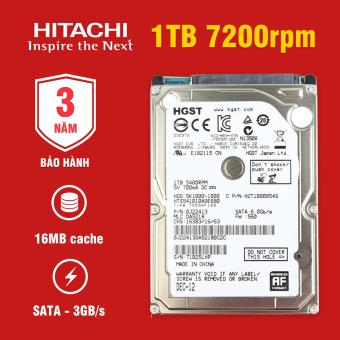 Ổ cứng Laptop Hitachi 1TB 7200rpm SATA