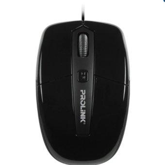 PROLiNK PMC2001 USB Optical Mouse 1600dpi Black intl