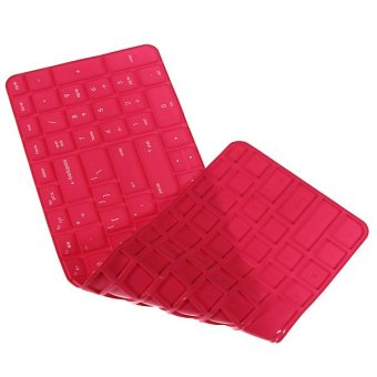Silicone Anti dust Keyboard Cover Skin Protector For HP Pavilion New DV6 Series Rose Intl