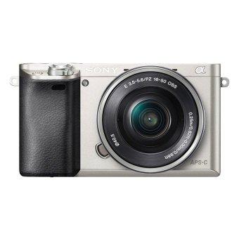 Sony Alpha A6000 24.3MP với Lens kit 16-50 (Bạc)