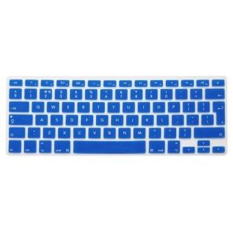 UK EU Silicone Keyboard Cover Skin For Apple Macbook Mac Pro Air 11inch 13inch 15inch 17inch Intl