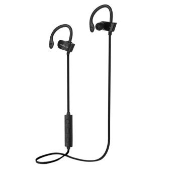Winksoar Wireless Bluetooth Headset Sport Stereo Headphone For iPhone Samsung LG Black - intl