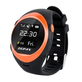 ZGPAX X83 Wrist Smart Phone Watch MTK2503D WIFI GSM Elder SOS GPS Tracking intl