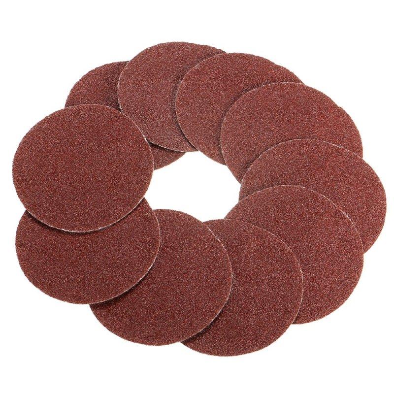 100Pcs 2inch 100# Grits Sander Disc Sanding Polishing Pad Sandpaper - intl
