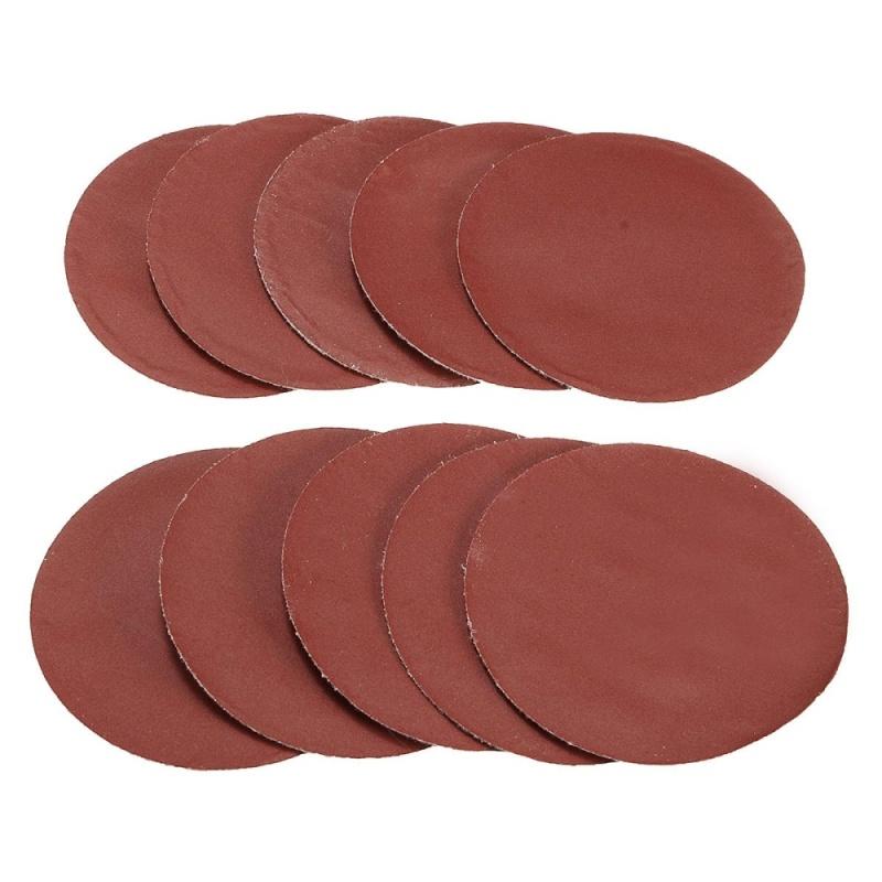 10pcs 75mm 3inch Sanding Discs Sandpaper 800 Grit - intl