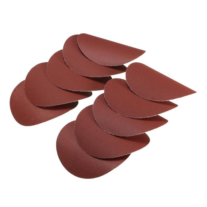 10x 75mm 3inch Sanding Discs Sandpaper 400 Grit - intl