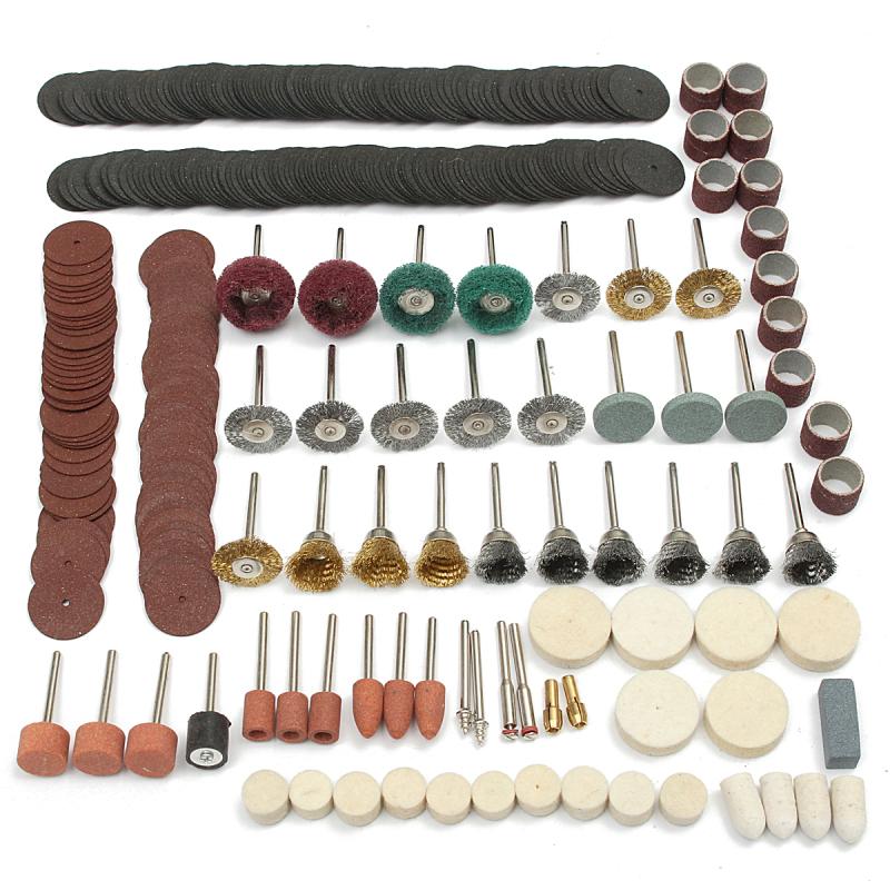 347Pcs/set Rotary Tool Accessory Fits For Dremel Grindng Sanding Polishing Kit - Intl