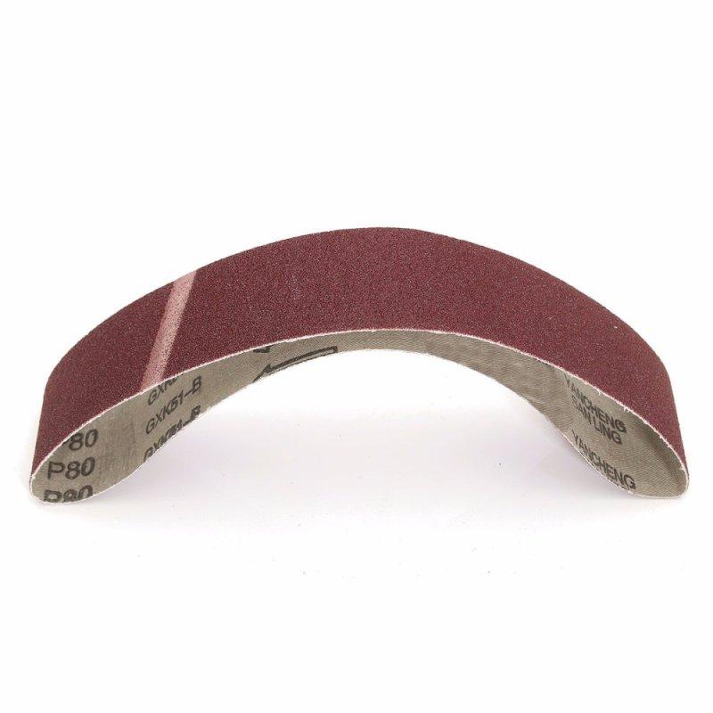 4Pcs 50x686mm Sanding Belts 80Grit Belt Sander Power Tools - intl