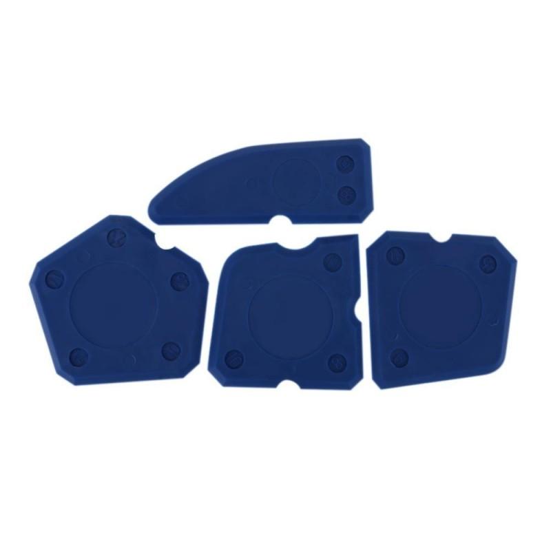 4pcs Joint Sealant Grout Remover Scraper Hand Tool Caulking Tool Kit - intl